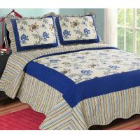 Buy cheap Printed Embroidery bedroom beautiful comforter sets with frame from wholesalers