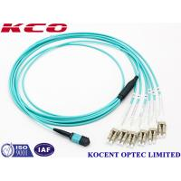 China Switchable LC Uniboot MPO Multimode Fiber Optic Patch Cord OM1 OM2 OM3 OM4 wholesale