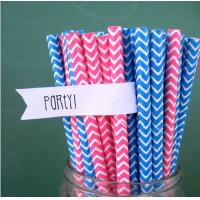 Cheap colored paper straws wholesale