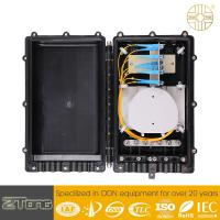Straight Through Outdoor Fiber Splice Enclosure Fiber Joint Box In FTTH Project