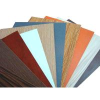 Cheap Colorful Paper Overlay Melamine MDF Board / Chipboard for Decoration and Furniture wholesale