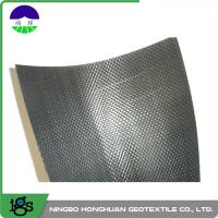 8m Grey Woven Geotextile Filter Fabric For Soft Soil Foundation