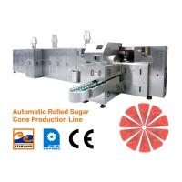 China Ice Cream Cone Production Line Efficiency 2.0hp 1.5kW wholesale