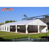 Quality Wind Resistant Romanic Wedding Marquee Tent Longer - Term Use Customized Color for sale