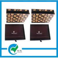 Cheap Customized Fashionable Matt Finish Leather Wallet Cardboard Packaging Boxes wholesale