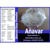 China Oral Steroid Raw Powder Oxandrolone / Anavar For Homebrew Oil CAS No.53-39-4 wholesale