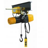 Cheap 250 kg, 500 kg, 1ton, 2 ton Electric Chain Hoist / Chain Block With Trolley For indoor and out door wholesale