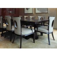Buy cheap Traditional Rectangular Modern Dining Room Tables For Hotel Furniture Sets from wholesalers