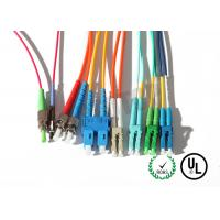 China Yellow Jacket Fiber Optic Patch Cord 10m For Test Equipment / CATV wholesale