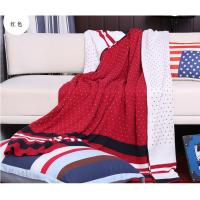 Buy cheap Beautiful Colorful Popular Quilted Throw Blanket For Sofas / Chair 100% Polyester from wholesalers