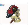 Cheap Non-toxic Human Skull Cool Fish Tank Decorations , Eco Friendly Novelty Fish Tank Ornaments wholesale