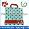 Cheap Custom Printed Die Cut Handle Plastic Bags Printed Polythene Bags wholesale