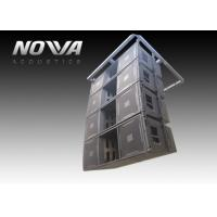 China Flexible Touring Portable Line Array Speakers 3 Way For Living Performance wholesale
