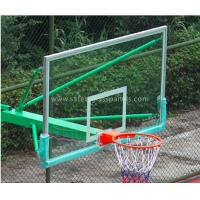 Super Toughened Safety Glass Basketball Backboard Wall Mount For Buildings