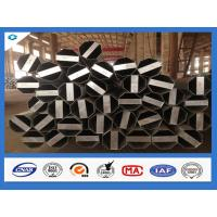 China Q345 Steel Material 40FT Hot Dip Galvanized Electric Steel Pole wholesale