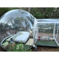 Transparent Lawn Outdoor Inflatable Tent Clear Inflatable Camp Tent For Family