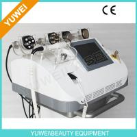 Cheap 42KG Multipolar RF vacuum cavitation slimming machine 300J / cm2 wholesale