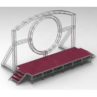 Wholesale NiceRotation  Truss In Party Weeding DMX One Channel Aluminum Rotary Circle Stage Llighting Truss for dj moving head led from china suppliers