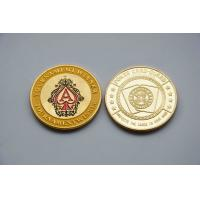 Cheap Engrave Laser Fake Golden Commemorative Coins with Aluminium Stainlesss steel wholesale