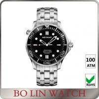 Classic Matt Men'S Automatic Dive Watches , Custom Logo Stainless Steel Swiss Watch