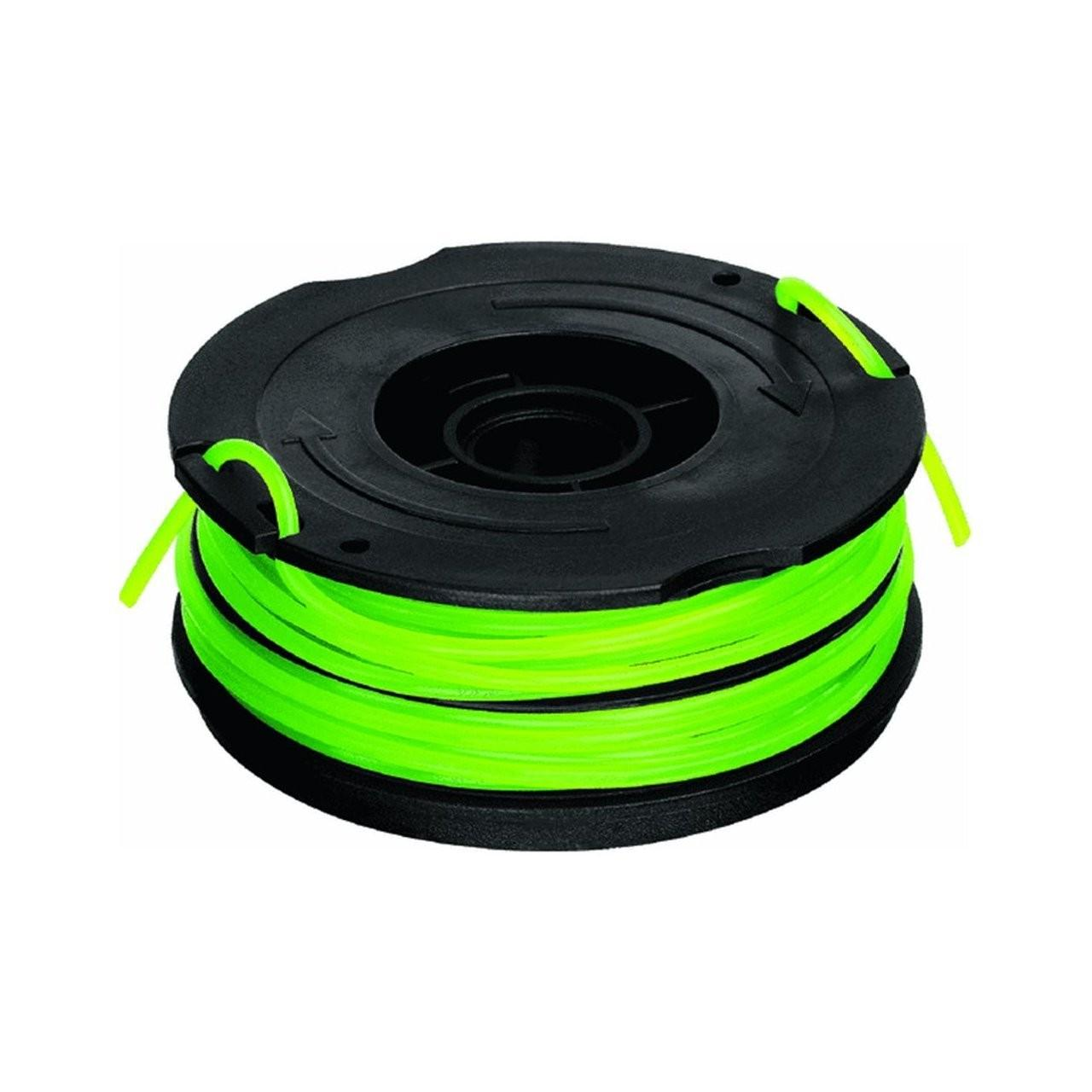 Custom DF-080 Dual-Line Replacement Spool , 080-Inch Green Nylon Line
