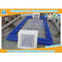 Buy cheap 0.55MM PVC Inflatable Football Pitch Inflatable Soccer Playground from wholesalers