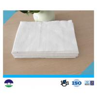 China Polester Filament Geotextile Drainage Fabric High Strength White wholesale