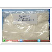 China Muscle Building Anabolic Raw Oral Anabolic Steroids Powders Stanozolol / Winstrol wholesale