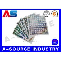 China Secure  Printed Self Adhesive Stickers Labels Vinyl Printing With Serial Number wholesale