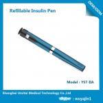 China Sapphire Blue Purple Insulin Pen , Regular Insulin Pen For Humalog Cartridge wholesale