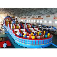 Buy cheap Giant Inflatable 5k Game Adult Inflatable Obstacle Course For Sale from wholesalers