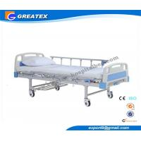 Multifunction Manual Hospital Bed , One Crank hospital bed for ICU Room and General Ward