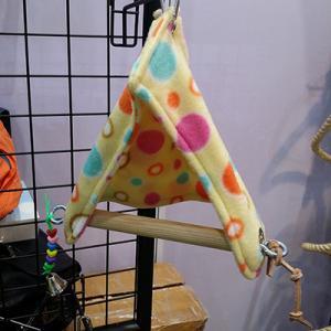 fleece hideaway perch tent bird swings, for parrot sleeping,medium