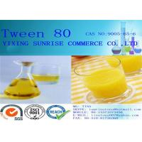 China Solid Pharmaceutical Intermediates Tween 80 For Stabilize Aqueous Excipient wholesale