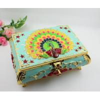 Shinny Gifts Jewelry Box Storage Organizer Case Ring Earring Necklace Mirror PU
