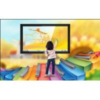 Cheap Visual Interactive Flat Panel Display , Obtain CE Regulation For Business Training wholesale