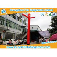 Buy cheap Event Inflatable Advertising Products / Red Color Dancing Balloon Man from wholesalers