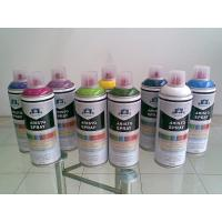 China Non toxic Eco-friendly Artist Aerosol Spray Paint for Wood / Plastic / Metal Surface wholesale