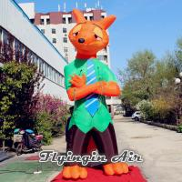 Giant Decorative Red Fox of Zootropolis, Inflatable Nick for Sale