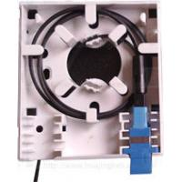 Wholesale Small 86 Fiber Optic Terminal Box Socket Panel Plastic Shell SC 2 Adapter from china suppliers