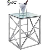 Cheap Multi Purpose Square Shape Matte Finish Stainless Steel Buffet Table For Star Hotels wholesale
