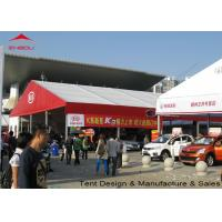 China Flame Retardant Clear Marquee Exhibition Tent / Outdoor Trade Show Tents wholesale