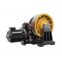 Buy cheap 45kw Geared Elevator Traction Machine For Cargo Lifts 0.5~2 M/S from wholesalers