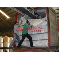 Buy cheap Conveyor belt loading Woven Container Liner Bag With Food Grade certificate For rice from wholesalers