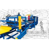 Buy cheap Wall / Roof Sandwich Panel Roll Forming Machine Rock Wool Sandwich Plate Machine from wholesalers