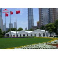 China Heavy Duty Waterproof Canopy Marquee Tents For Wedding 500 People wholesale