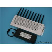 China Walkie Talkie Wireless Signal Jammer Wifi Blocker With Omni Directional Antenna wholesale