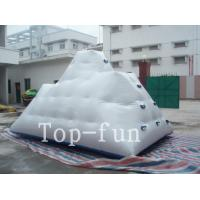 China Backyard Inflatable Water Park Iceberg For Lake / River / Swimming Pools wholesale