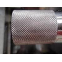 China Grain Pattern Metal Steel Embossing Roller For engrave pattern wholesale