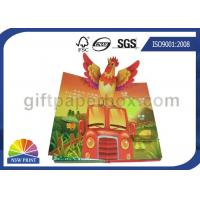 Cheap Custom Pop Up Book Printing Services / Children Reading Book Printing for 3D Book wholesale